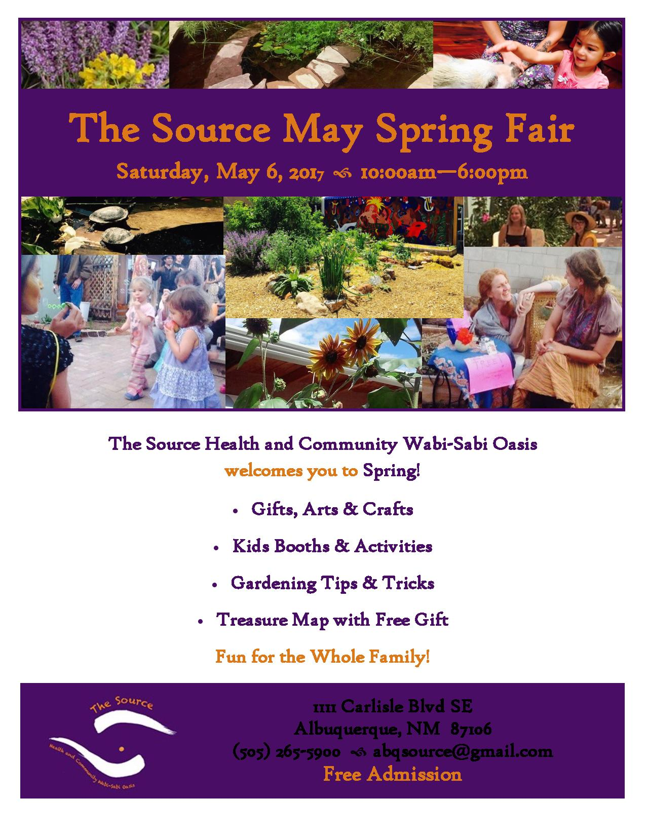 Spring craft fair at the source abq la monta ita co op for Craft shows in albuquerque 2017